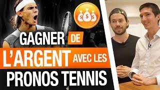 Comment GAGNER de l'ARGENT avec les PRONOSTICS TENNIS ? Clément BENOIT