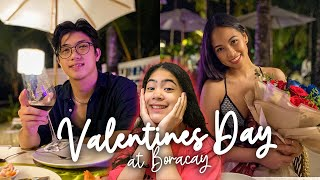 My FIRST Valentines (Boracay Trip) | Ranz and Niana