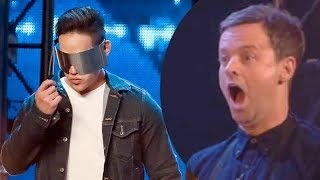 BGT 2018 AUDITIONS WK4 - ANDREW LEE (MAGICIAN) AMAZING!