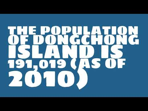 What is the population of Dongchong Island?