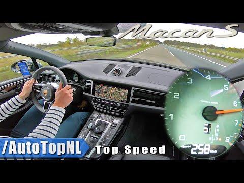 2020 PORSCHE MACAN S | TOP SPEED On AUTOBAHN (NO SPEED LIMIT) By AutoTopNL