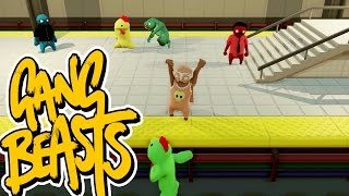 gang beasts online i think he s mad at me