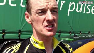 Gambar cover David McCann speaks after stage six of the 2012 An Post Rás