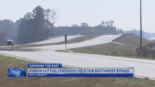 Southwest Bypass opens to traffic ahead of schedule