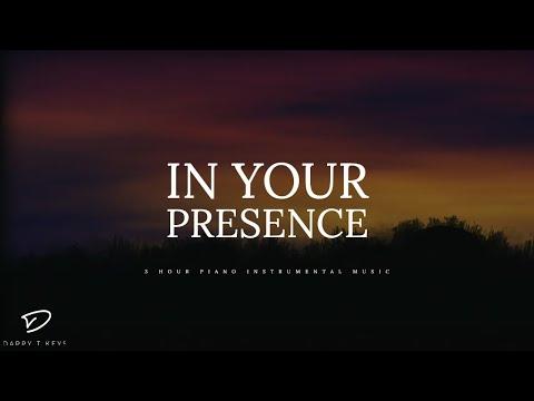 In Your Presence - 3 Hour Piano Music | Prayer Music | Meditation Music | Healing Music | Soft Music