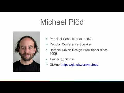 Webinar: Overview and Core Values of Domain-Driven Design - Part 1/5