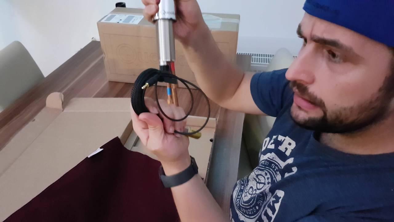 Unboxing Quooker Flex Wasserhahn Fur Kochendes Wasser Youtube