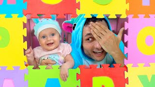 Peek A Boo Song + More Songs for Kids from Maya and Mary
