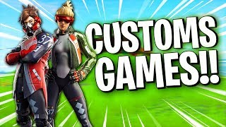 🔴 FORTNITE-NEW SKINS!! CUSTOMS GAMES & RAFFLE FOR SUPPORTERS!! CODE SKEITHE IN STORE!!