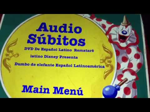 Dumbo 1941 DVD Menu
