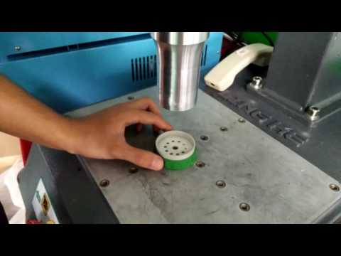 Lingke ultrasonic welding machine for water bottle lid