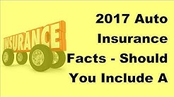 2017 Auto Insurance Facts    Should You Include A Lot Of Extras In Ones Car Cover