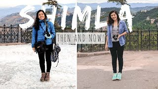 sHIMLA IN SUMMER vs WINTER | I got photos at the same place!! Shimla Vlog