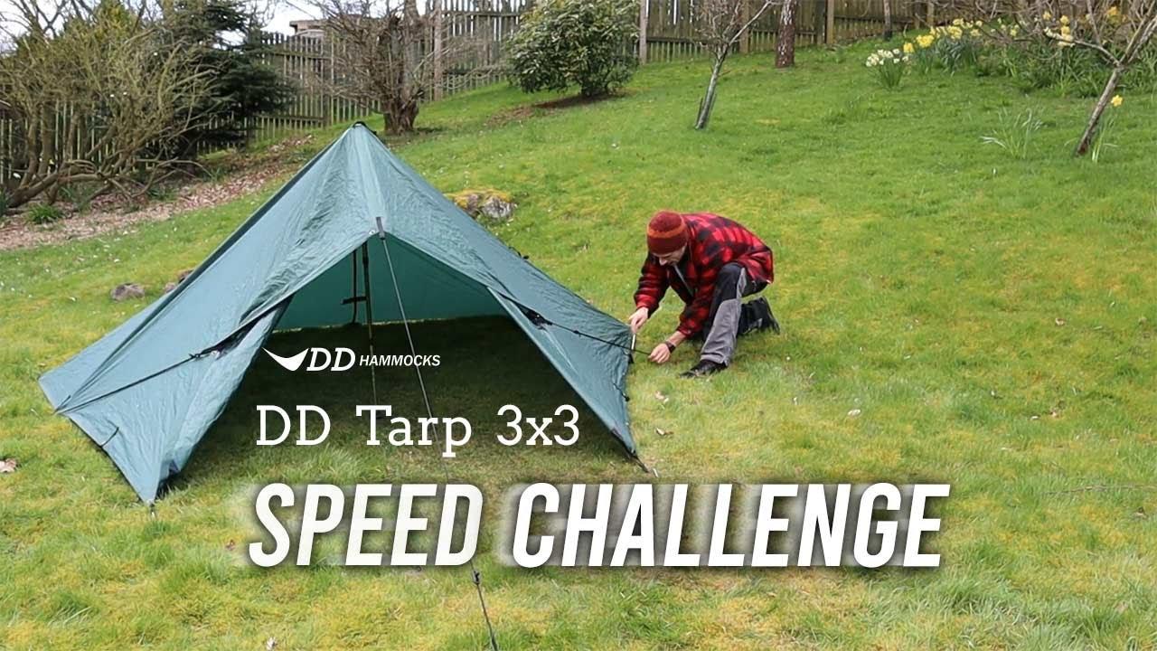 DD Tarp 3x3 Speed Challenge! - YouTube
