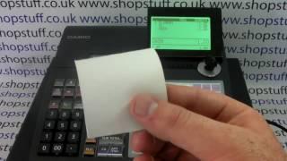 Casio SE-C450 Cash Register Receipt Not Printing Trouble Shooting Till Receipt Problems