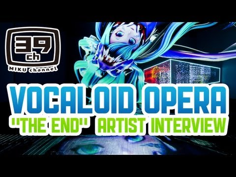 "【VOCALOID OPERA】 ""THE END"" Artist Interview 【渋谷慶一郎・初音ミク】"