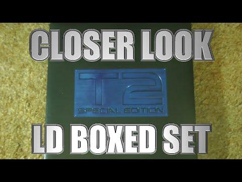 T2 Special Edition Laserdisc Boxed Set - A Closer Look