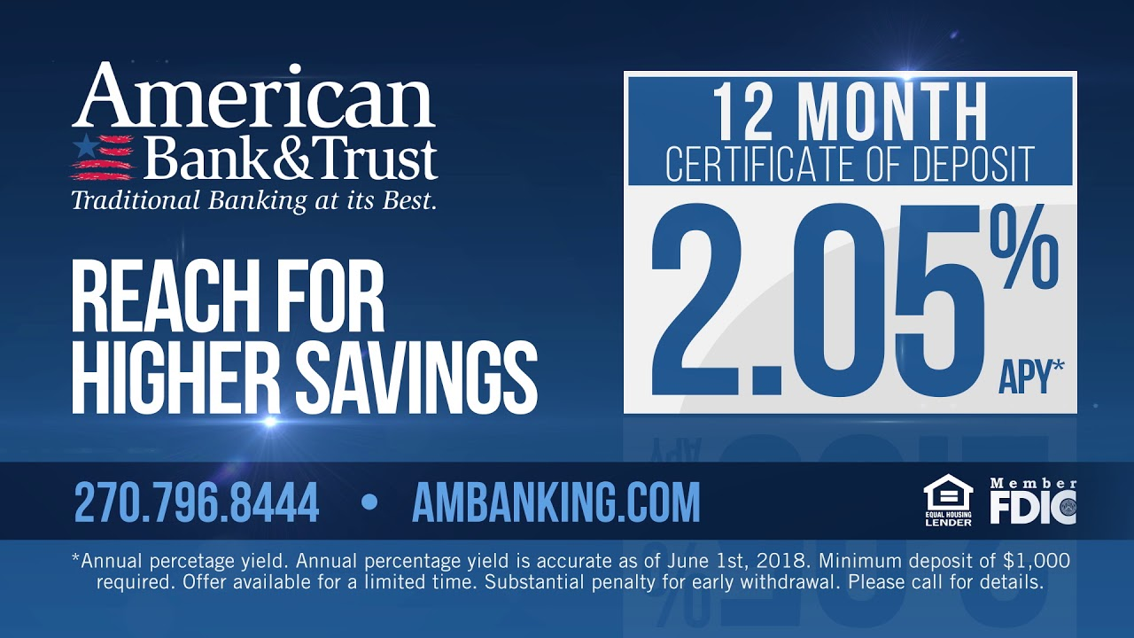 American Bank Cd Commercial Youtube