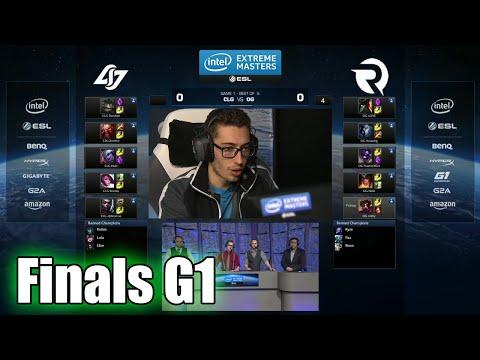CLG vs Origen | Game 1 Grand Finals IEM San Jose LOL 2015 | Origen vs CLG IEM | CLG vs OG G1