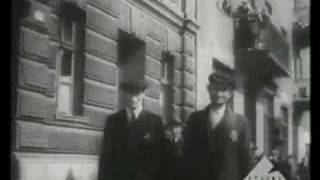 Archival film of the ghettos in Dąbrowa Górnicza and Będzin part 1 of 2