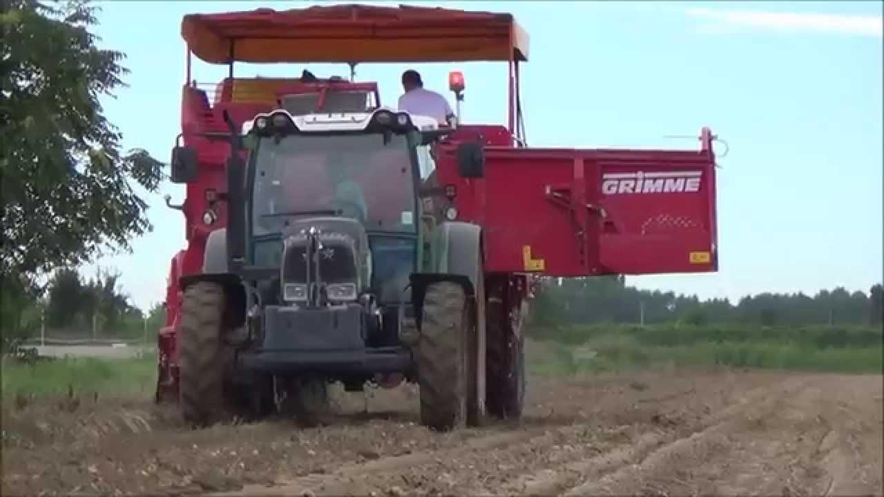 Valmori societ agricola raccolta patate 2014 youtube for Raccolta patate