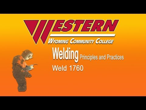 Western Wyoming Community College Weld 1760