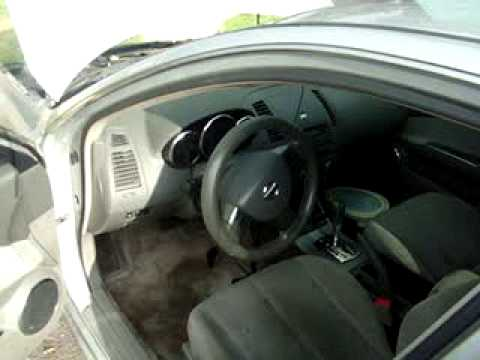 2005 nissan altima ignition problem - YouTube