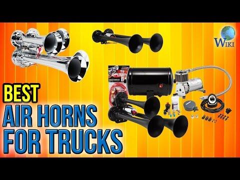 10 Best Air Horns For Trucks 2017