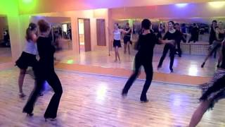 Танец мамба  Обучение