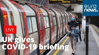 UK gives daily COVID-19 briefing  LIVE
