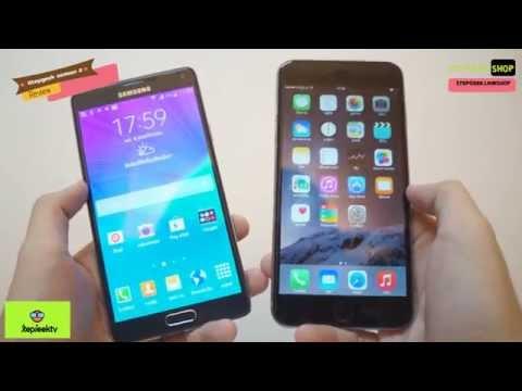 StepGeek season2 Review Iphone 6 plus vs Samsung Galaxy Note 4
