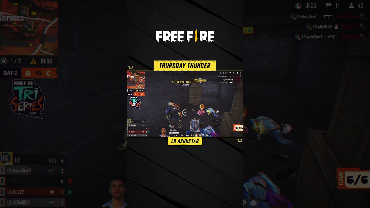 Thursday Thunder Ft. LB-Ashustar | Free Fire