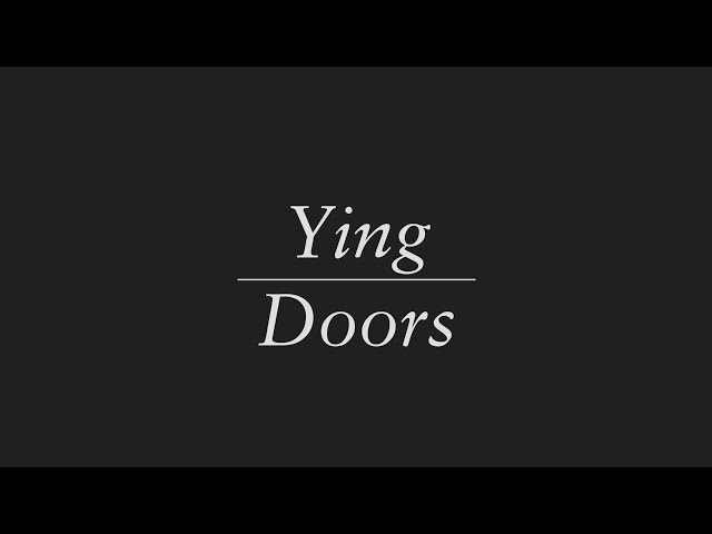 Ying door designed by Leung for Lualdi