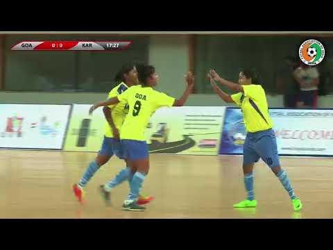 #futsalindia WOMEN'S FINAL - GOA - KARNATAKA