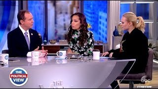 """Adam Schiff  """"No Guarantee The Country Will Learn What Mueller Finds"""" (The View)"""