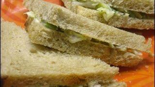 Cold Cut Veggie Sandwich By Meenakshi
