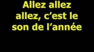Jessy Matador- Allez! Ola! Olé!-Lyrics