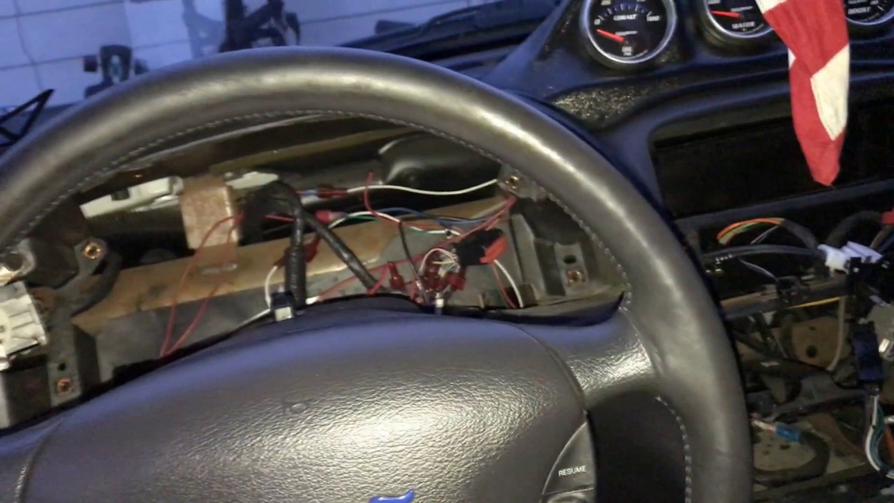 Mustang Heater Core Change Part 1
