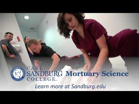 Mortuary Science Program at Carl Sandburg College