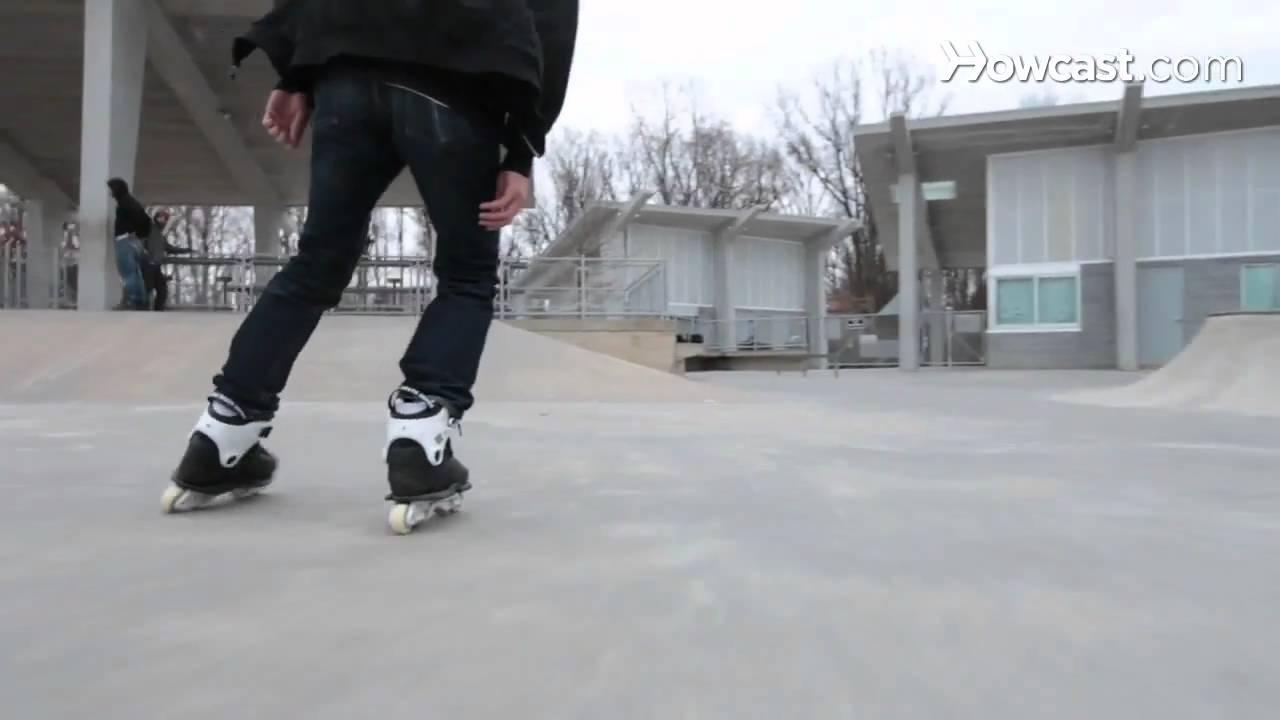 Roller skating rink arlington va - How To Turn With In Line Skates Rollerblading