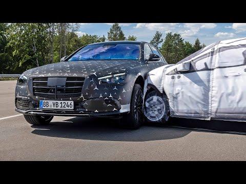 2021 Mercedes S-Class - Çarpışma Testi ve Güvenliği
