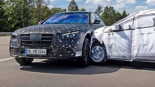 2021 Mercedes S-Class - Crash Test and Safety