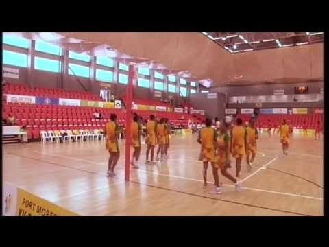 Pacific Games   2015 D13 NETBALL G1 TONGA vs VANUATU
