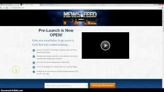 News Feed Fire Review - The News Feed Fire Works + BONUS