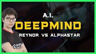 Reynor vs Alphastar [TvZ] Deepmind A.I. Starcraft 2