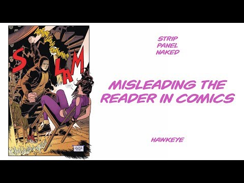 Misleading the Reader in Comics   Hawkeye   Strip Panel Naked