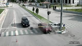 Mobese Trafik Kazaları - Aralık 2018 / EGM (Tek Parça)