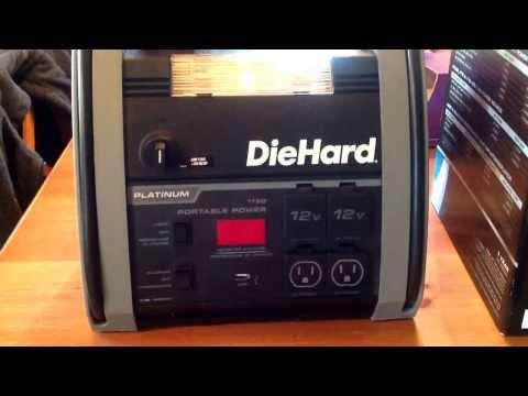 Battery Backup For CPAP Sleep Apnea Machine - Sears DieHard Portable Power 1150