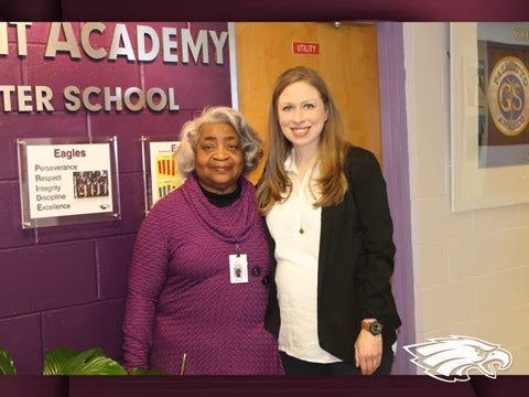 Chelsea Clinton's Visit to Charleston Development Academy 2/25/16