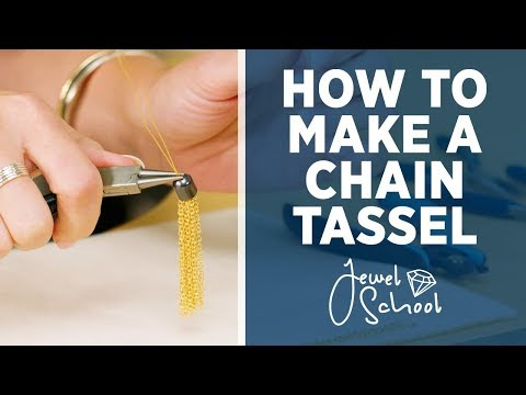 How to Make a Chain Tassel | Jewelry 101